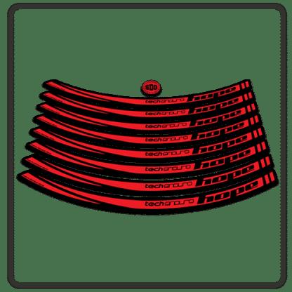 Red Hope Tech Enduro 26 Rim Stickers