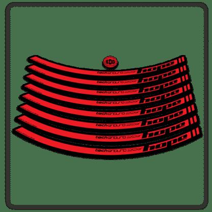 Red Hope Tech Enduro 29 Rim Stickers