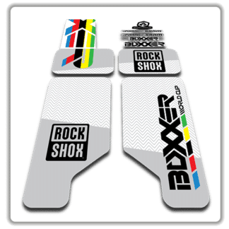 Rockshox Boxxer World Cup 2012 Fork Stickers
