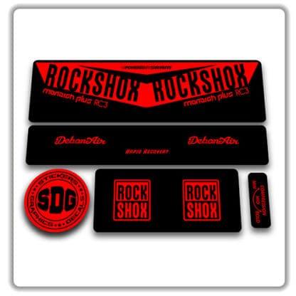 Rockshox Monarch Plus RC3 Debonair Stickers