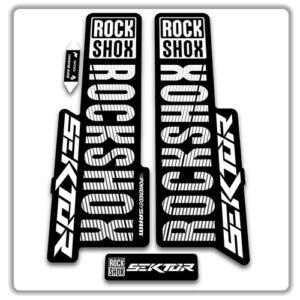 Rockshox Sektor 2018 2019 Fork Stickers
