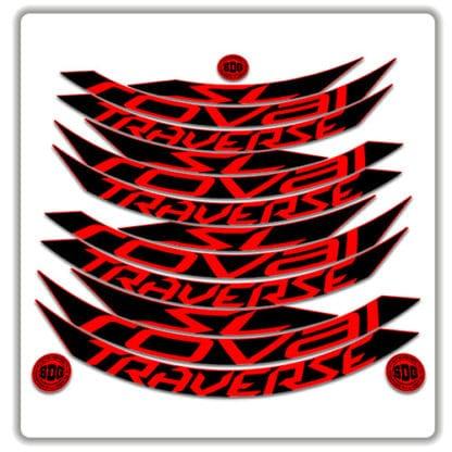 Roval Traverse SL 29er Rim Stickers 2017 2018