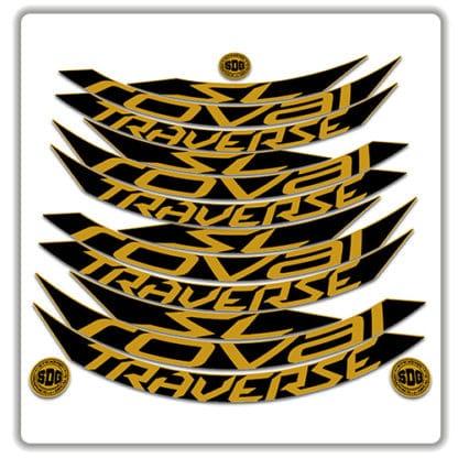 Roval Traverse SL 29er Rim Stickers 2017-2018