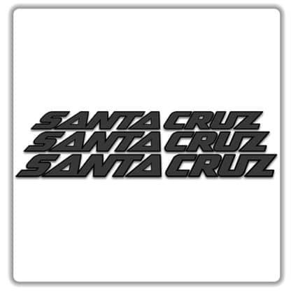 Santa Cruz Bicycles Downtube Decals
