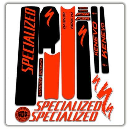 specialized turbo kenevo frame set stickers 2018 2019