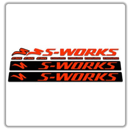 Specialized Enduro 2018 2019 S-Works Frame Stickers