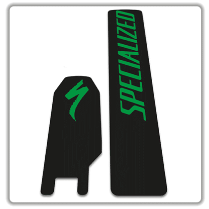 Specialized Kenevo 2018 battery stickers green