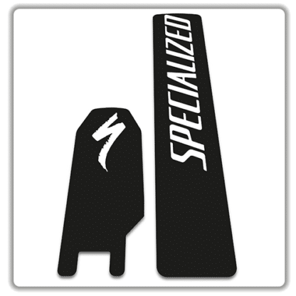 Specialized Kenevo 2018 battery stickers white