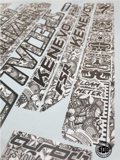 specialized kenevo 2020 2021 frame stickers