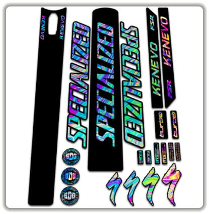 Specialized Kenevo 2020 frame stickers