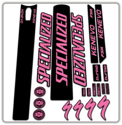 Specialized Turbo Kenevo 2020 Frame Sticker Set