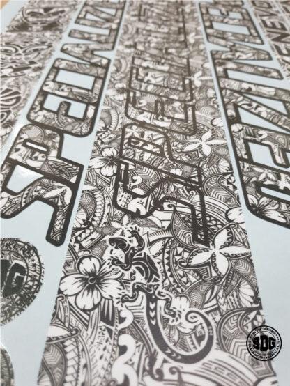 specialized kenevo tribal frame stickers