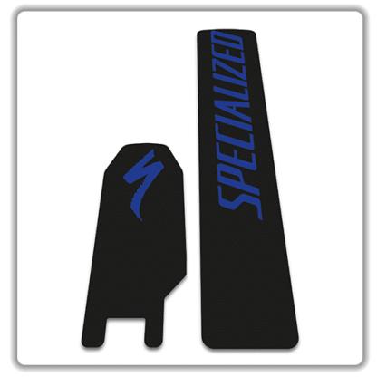 Specialized Levo 2018 battery stickers blue