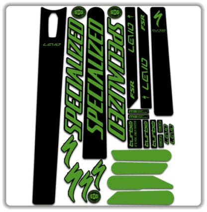 Specialized Levo 2020 frame stickers