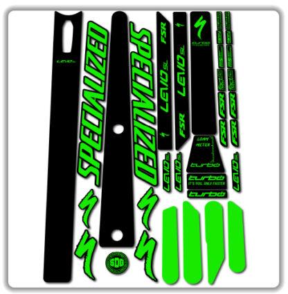 Specialized Levo SL 2020 2021 frame stickers