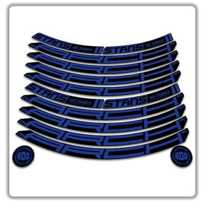 Stans No Tubes 27.5 Arch ZTR MK3 Rim Stickers blue