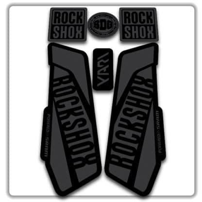 Stealth Rockshox Yari Fork Stickers 2017