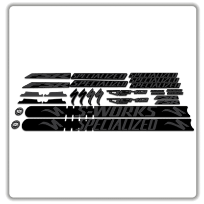 Stealth Specialized Demo 8 Frame Set Stickers
