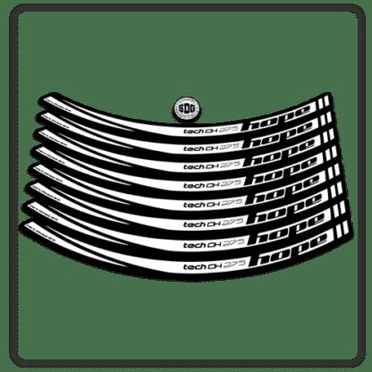 White Hope Tech DH 27.5 Rim Stickers