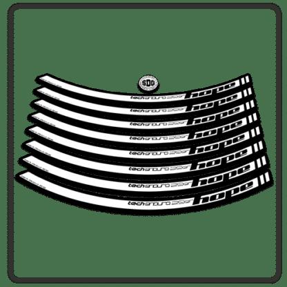 White Hope Tech Enduro 29 Rim Stickers