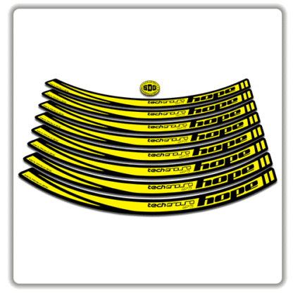 Yellow Hope Tech Enduro 27.5 Rim Stickers