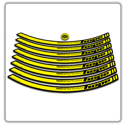 Yellow Hope Tech Enduro 29 Rim Stickers