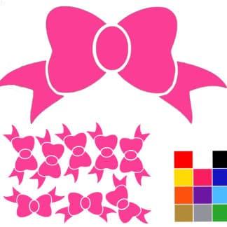 bow wall sticker