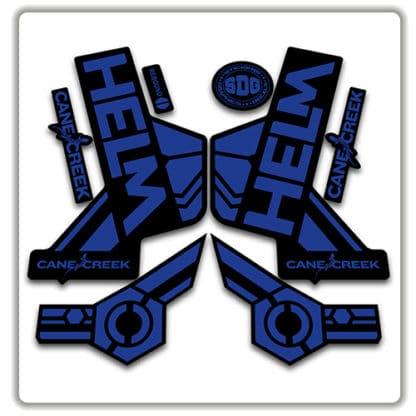 cane creek helm fork stickers blue