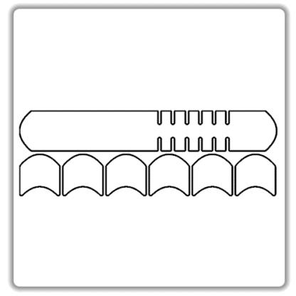 clear downtube bike frame protector