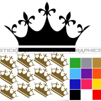 crown wall decals