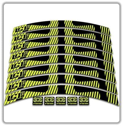 eThirteen LG1R en rim stickers