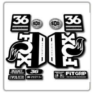 Fox 36 Performance 2018 2019 Fork Stickers