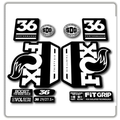 Fox 36 Performance 2018 2019 Fork Stickers