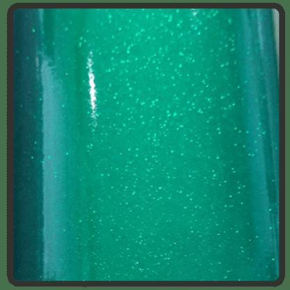 green glitter stickers