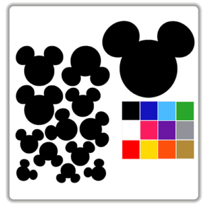 Mickey Mouse Wall Stickers Part 13