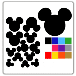 mickey mouse wall stickers uk