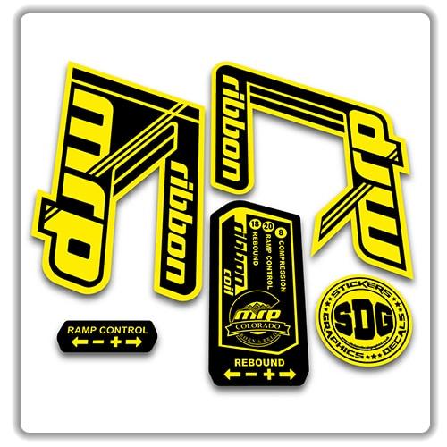 MRP Crank Sticker Decal