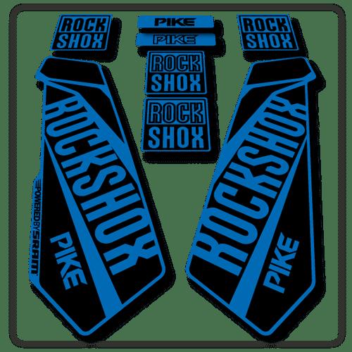 Rockshox Pike Fork Stickers 2015 2017 Stickers Decals