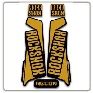 Rockshox Recon 2015 2017 Fork Stickers