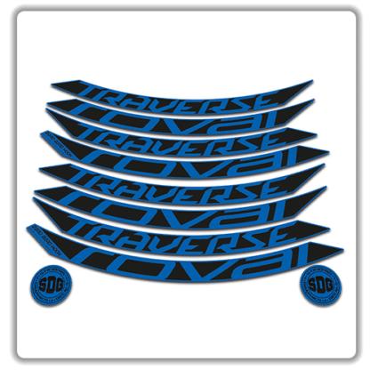 roval traverse fattie 650b blue rim stickers