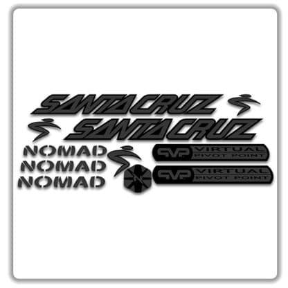 santa cruz nomad mk 1 stickers stealth