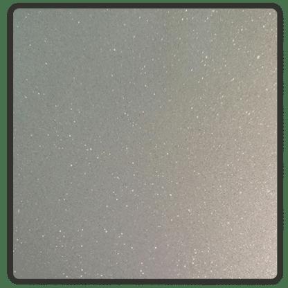 silver glitter stickers