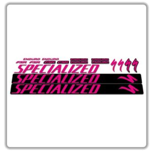 specialized enduro 2017 frame stickers pink