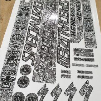 specialized kenevo frame stickers tribal