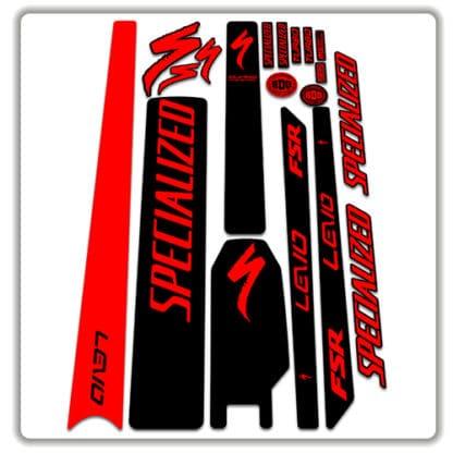 specialized levo frame stickers 2017 2018