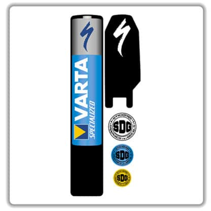 specialized levo kenevo battery pack stickers varta