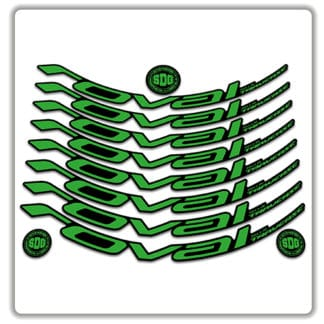 specialized roval traverse 650b rim stickers 2019 green