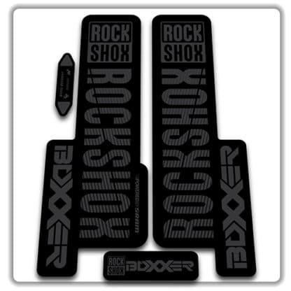 stealth rockshox boxxer 2018 fork stickers