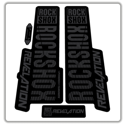 stealth rockshox revelation fork stickers 2018